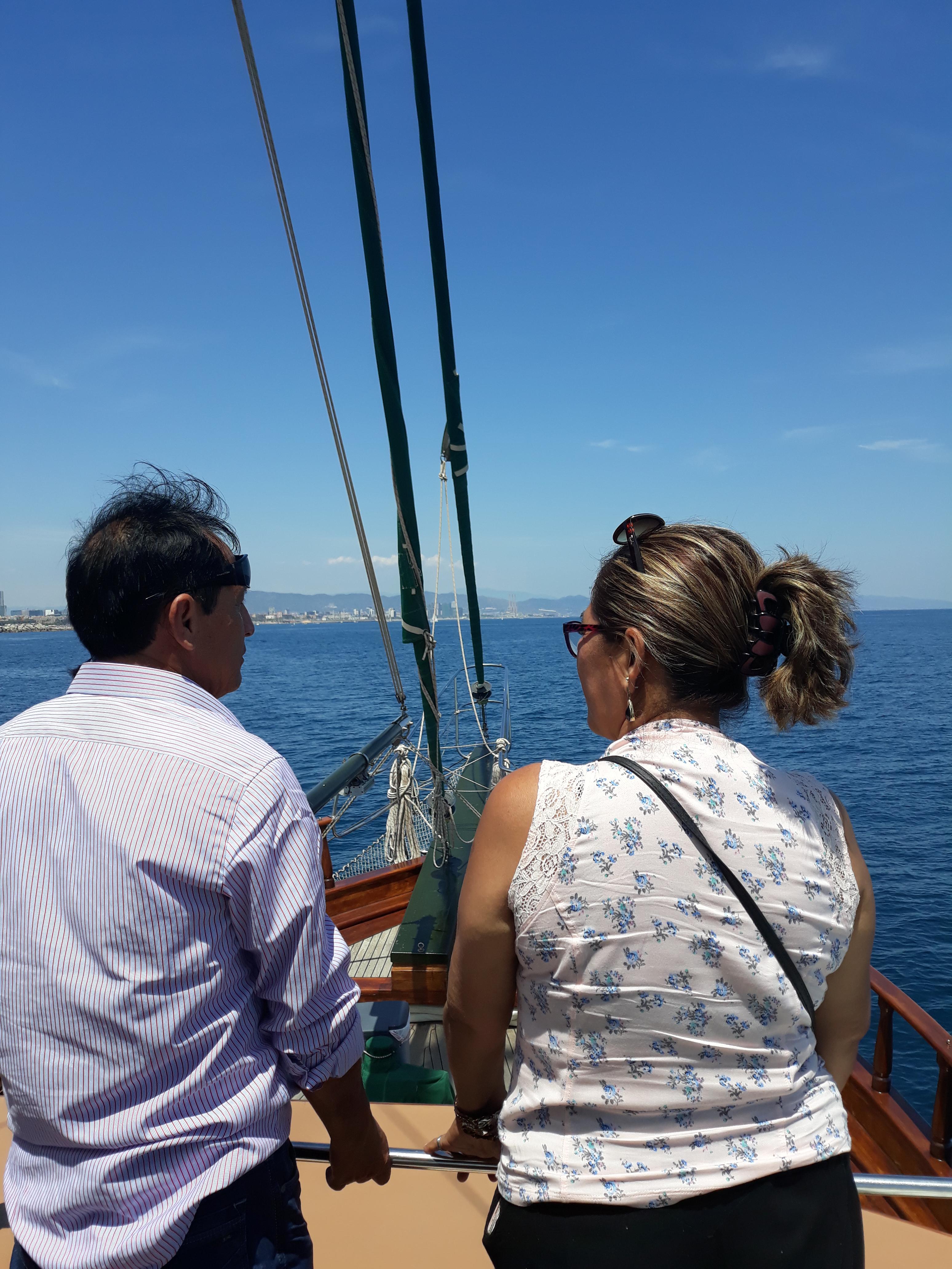 La Mer Méditerranée à Barcelone