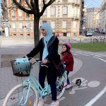 Vélo en ville pour la première fois