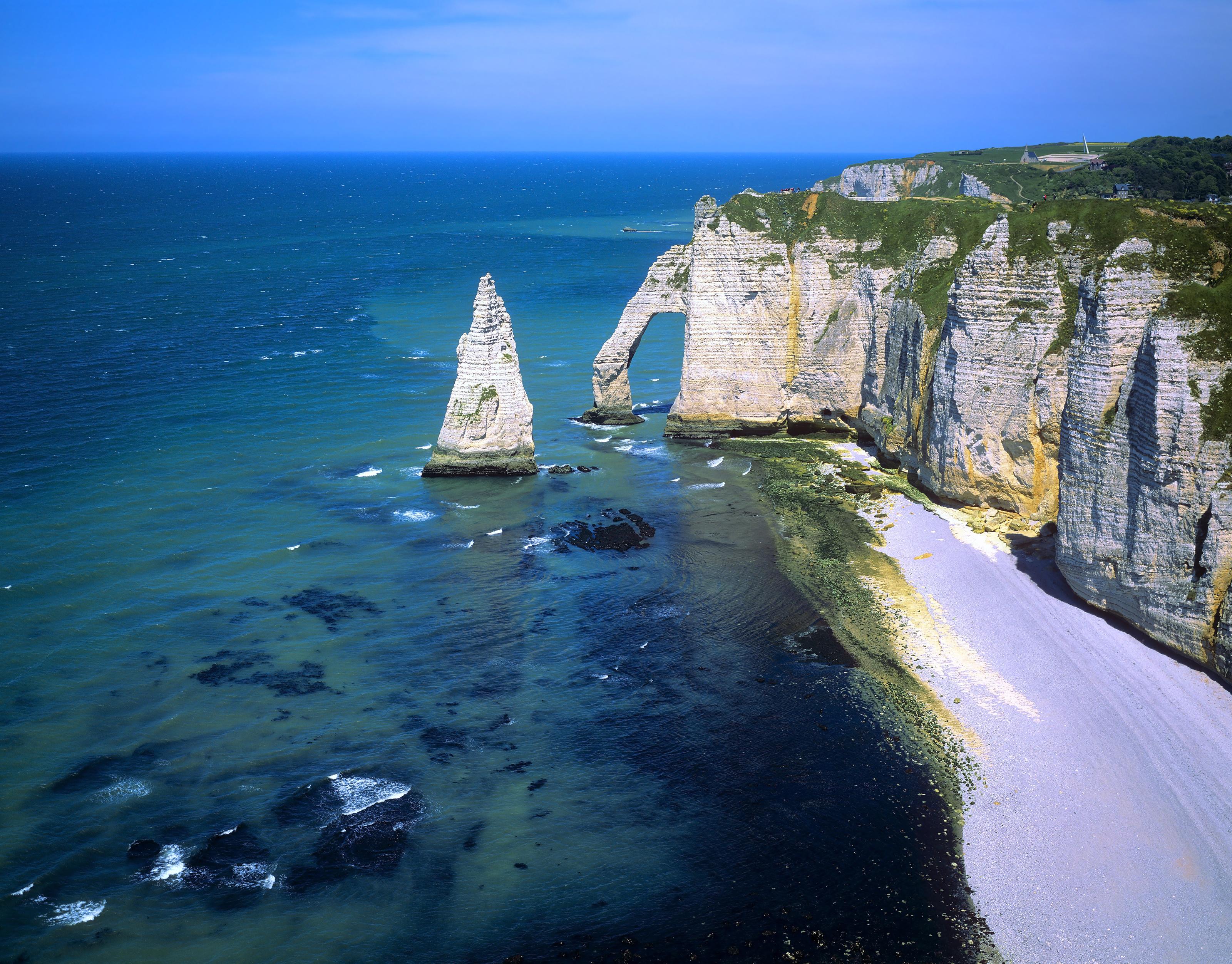 Falaises d'Étretat, Normandie