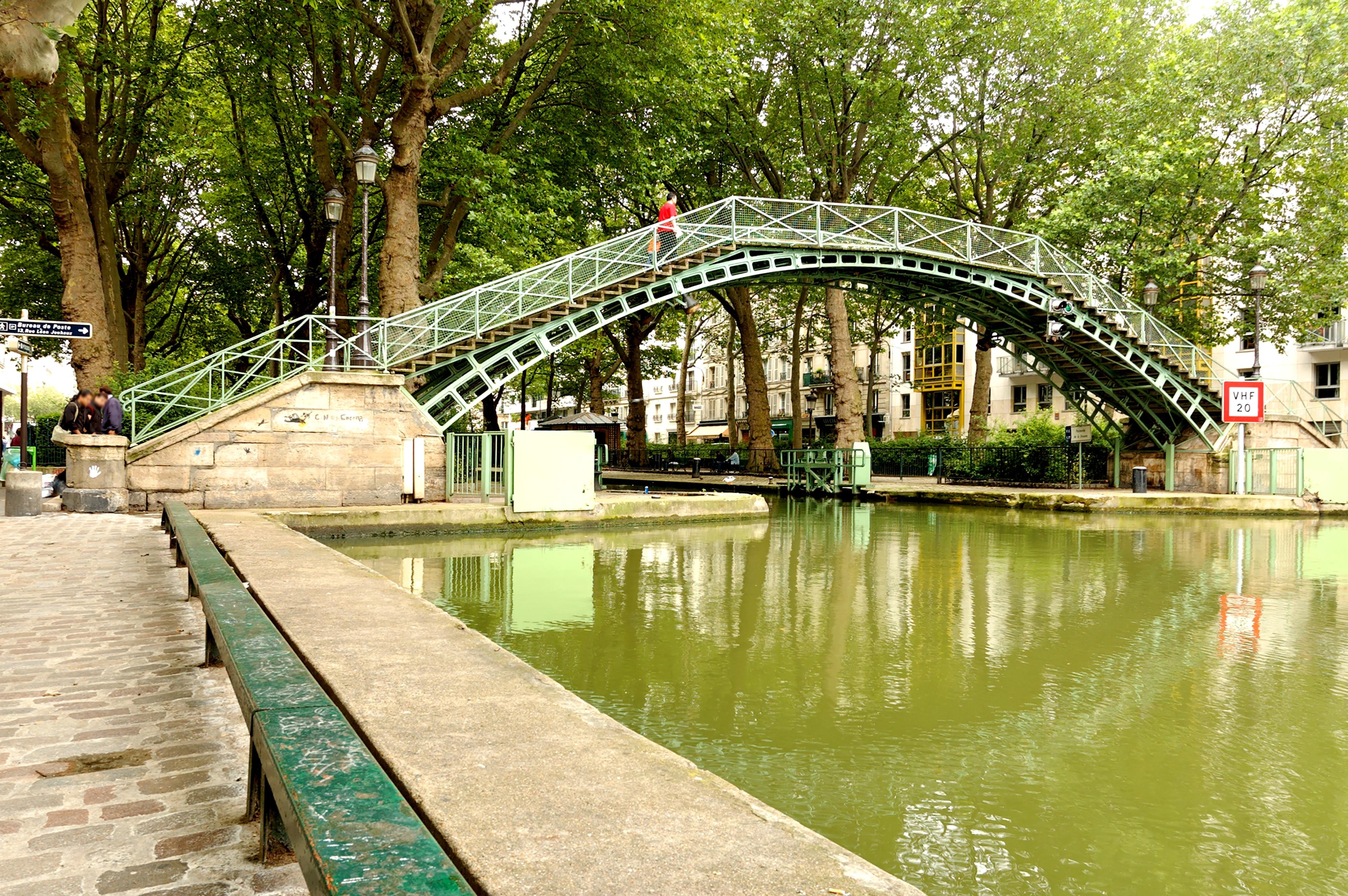 Canal Saint Martin à Paris