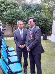 Discussion with Ambassador of India in France